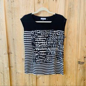 Calvin Klein printed top size M